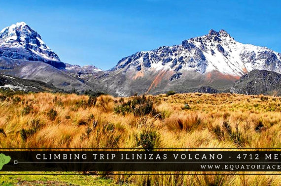 Climbing Trips Ilinizas Volcano Andes Ecuador