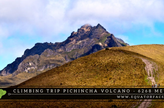 Climbing tours Pichincha Volcano Andes Ecuador