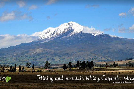 HIGH MOUNTAIN HIKING IN NEVADO CAYAMBE