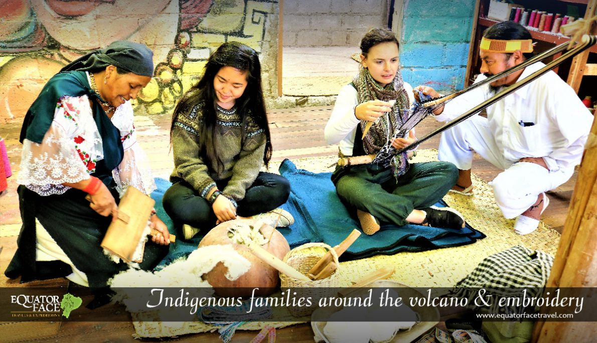Guided trips in Otavalo – Activities with families Imbabura Volcano