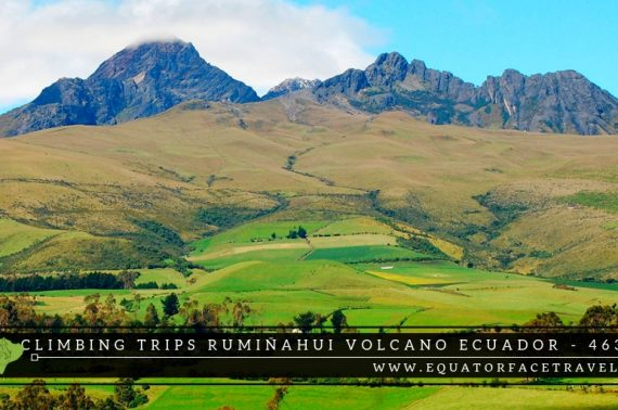 Climbing Tours Rumiñahui Volcano Ecuador