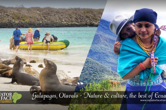 Galápagos, Otavalo & Quito. Nature, culture and art, the best of Ecuador