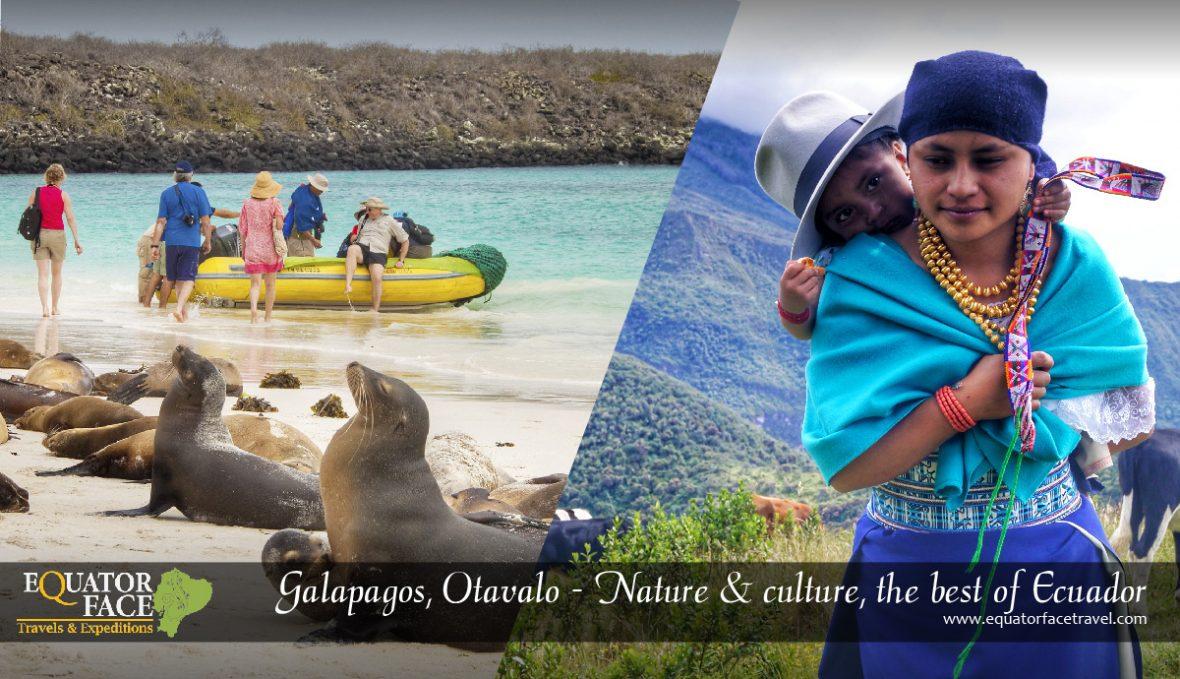 Galápagos, Otavalo & Quito. Nature, culture and art, the best of Ecuador