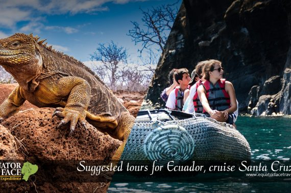 Suggested tours for Ecuador, cruise Santa Cruz II